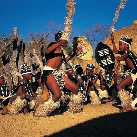Vibrant_Zulu_dancing_at_LEsedi_Cultural_Village_Tour_by_TASA_Tours_Johannesburg_Gauteng